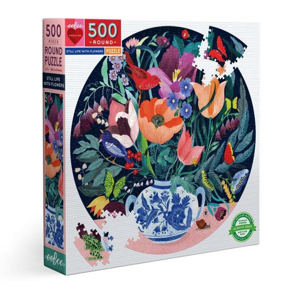 Cuy Games - 500 PIEZAS - STILL LIFE WITH FLOWERS -