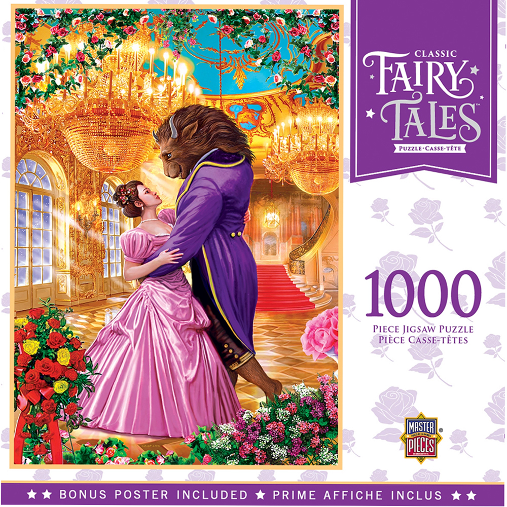 Cuy Games - 1000 PIEZAS - BEAUTY AND THE BEAST -