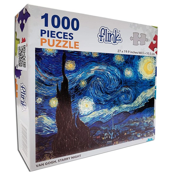 Cuy Games - 1000 PIEZAS - NOCHE ESTRELLADA FLINK -
