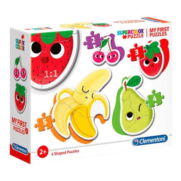 Cuy Games - INFANTIL - MI PRIMER PUZZLE - FRUTAS Y VEGETALES -