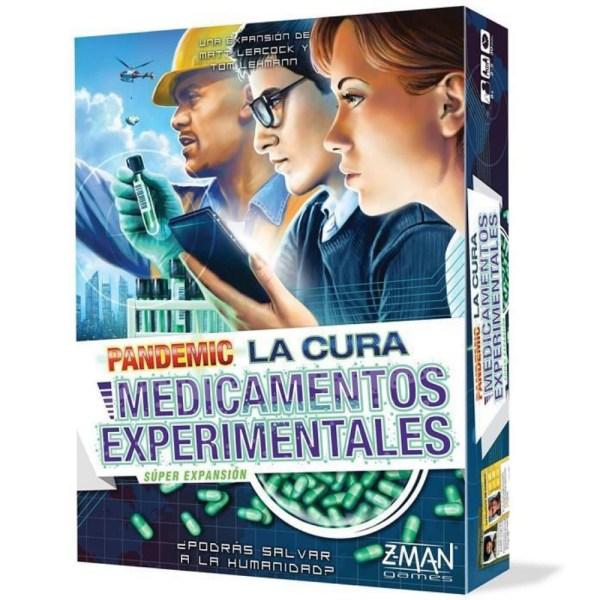 PANDEMIC LA CURA – MEDICAMENTOS EXPERIMENTALES