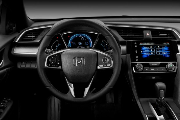 Honda Civic vista interior