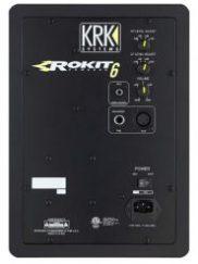 KRK RP6G3 Rokit 6 Back Side