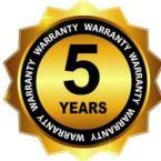 5-year Warranty Sign