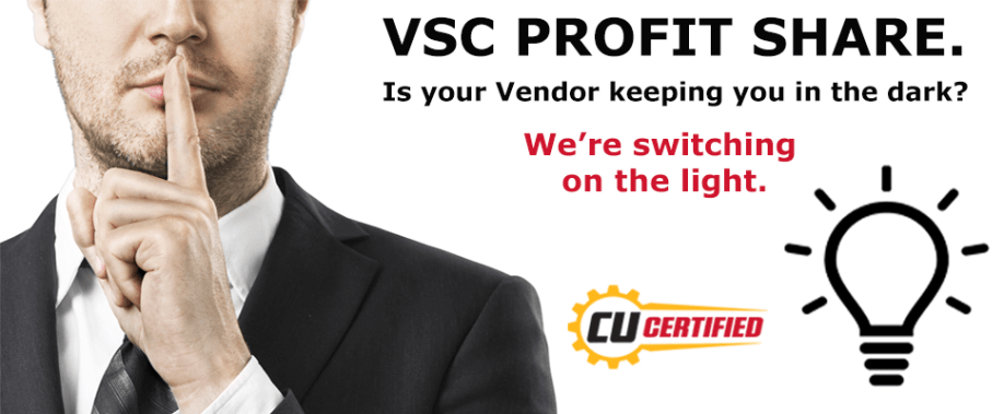 CU Certified - VSC Profit Share - Switching on the Light