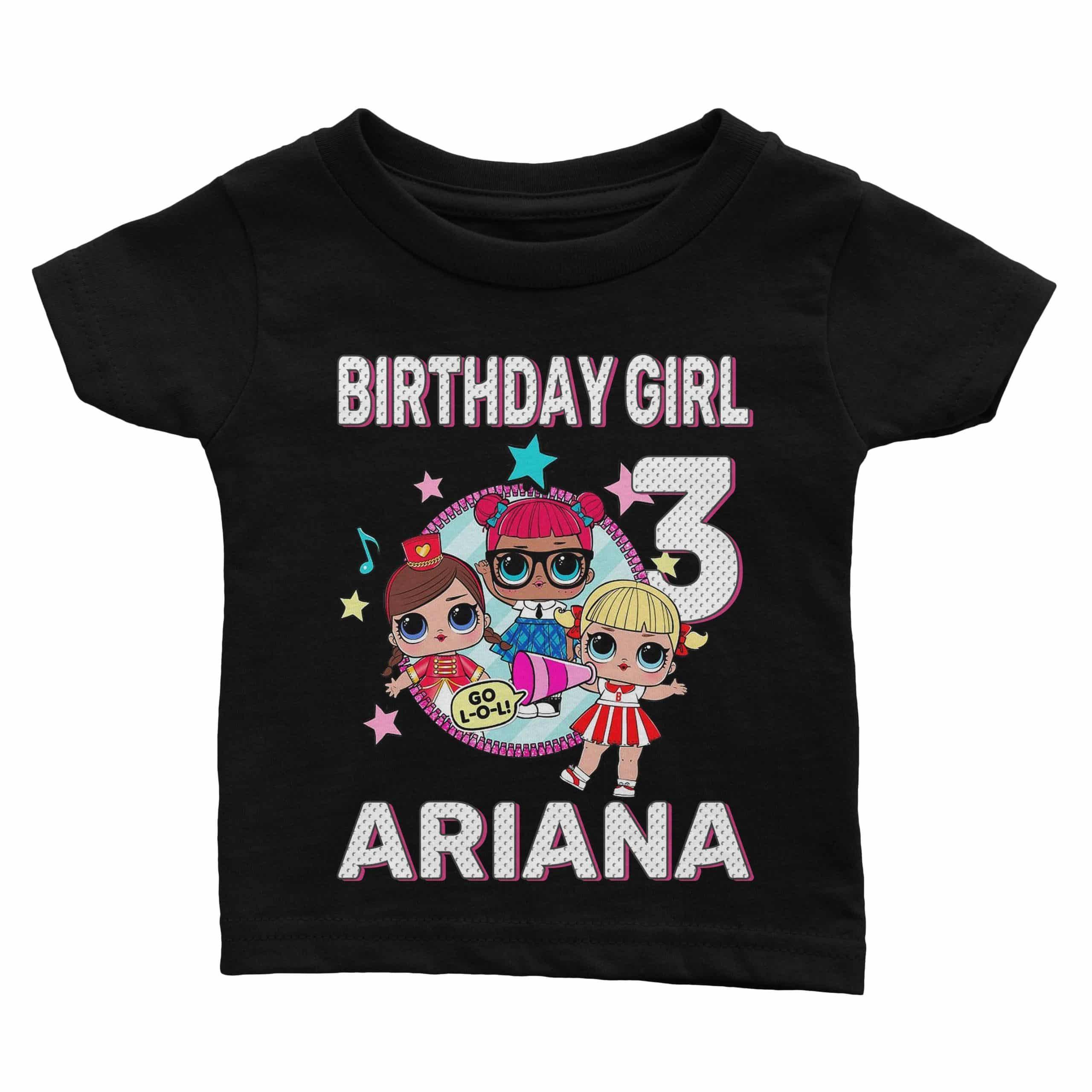 Personalize Lol Surprise Birthday Shirt Cuztom Threadz