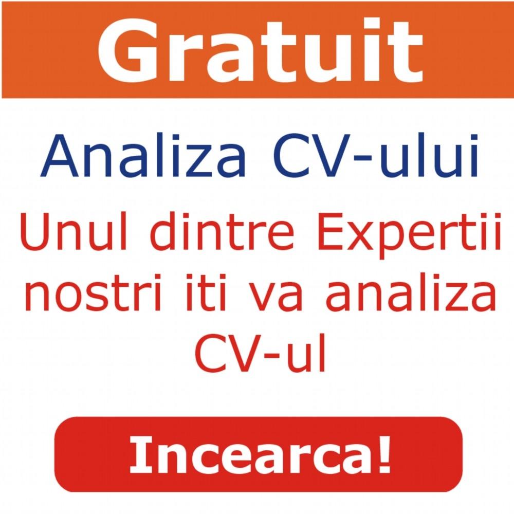 Analiza gratuita CV