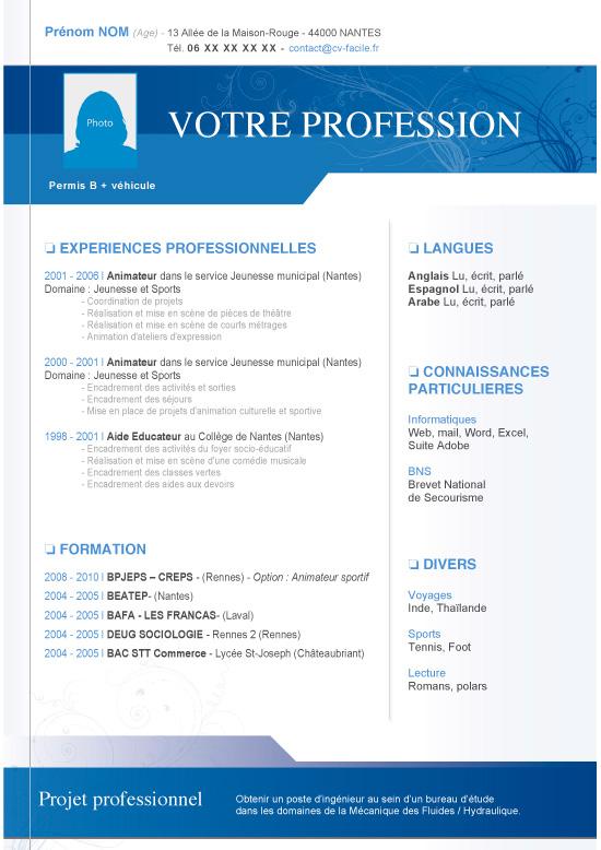Curriculum Vitae Microsoft Word Template Resume At The
