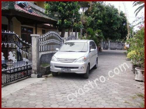 Akses Rumah Dukuh sari Sesetan Bali