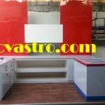 Produksi booth Pertamina di workshop ASTRO