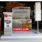 Produksi Booth travelling Bali