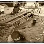 Pembuatan Struktur Rangka Pylon Sign BRI