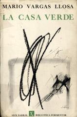 Cubierta de «La casa verde», de Mario Vargas Llosa