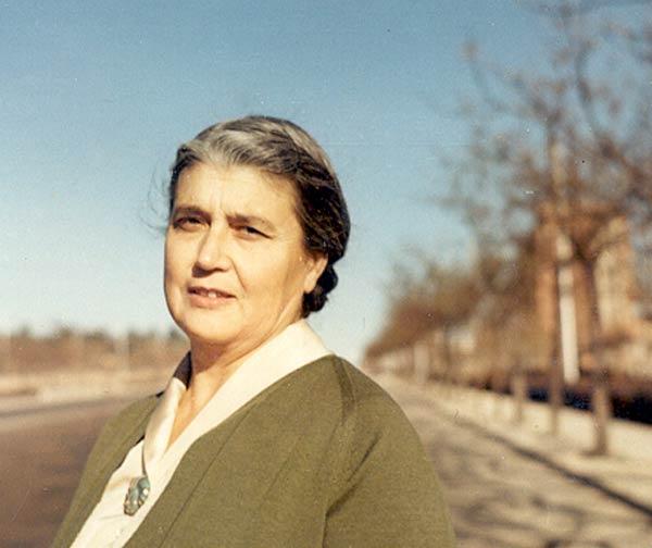 María Moliner, en 1955