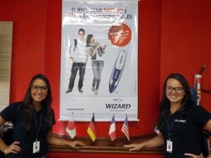 empregos em brasilia Recepcionista - Wizard