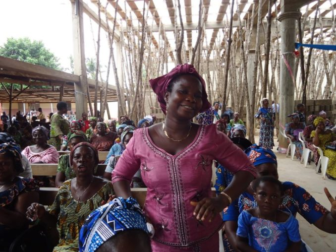 An elated Mrs. Agnes testifying