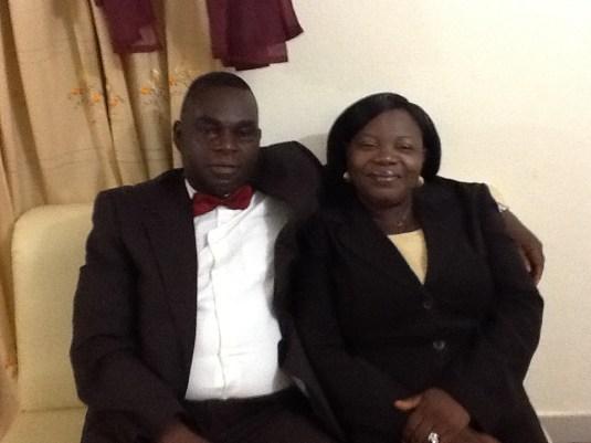 Rev. & Rev. Mrs. Olatona at the convention
