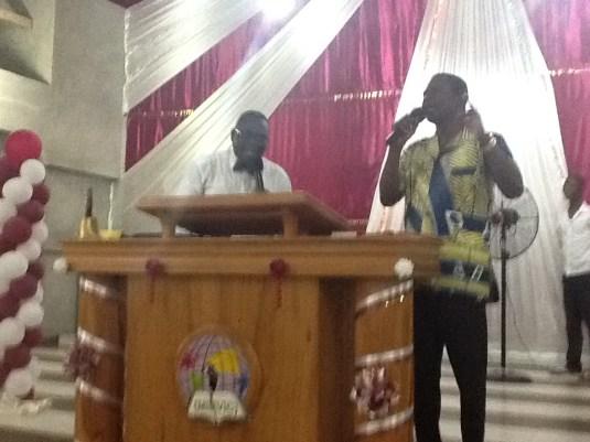 Ministering at the Convention, Porto Novo