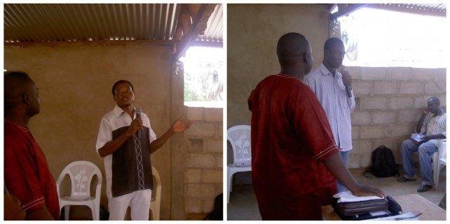 Testimonies at Burkina Faso, 2012