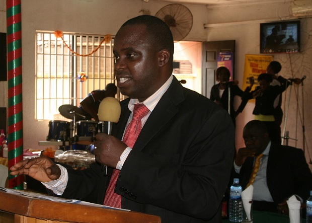 Pastor Muyiwa, as MC of the day