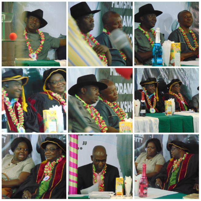 Some of the dignitaries