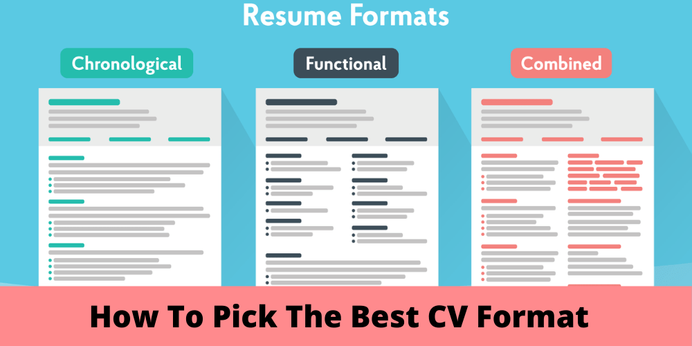How To Pick The Best CV Format