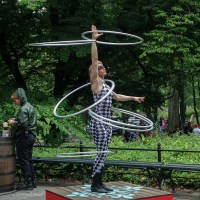 Extreme Hula-Hooping