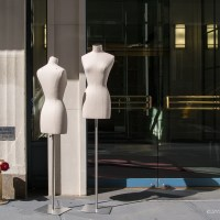 A Conversation Between Two Mannequins