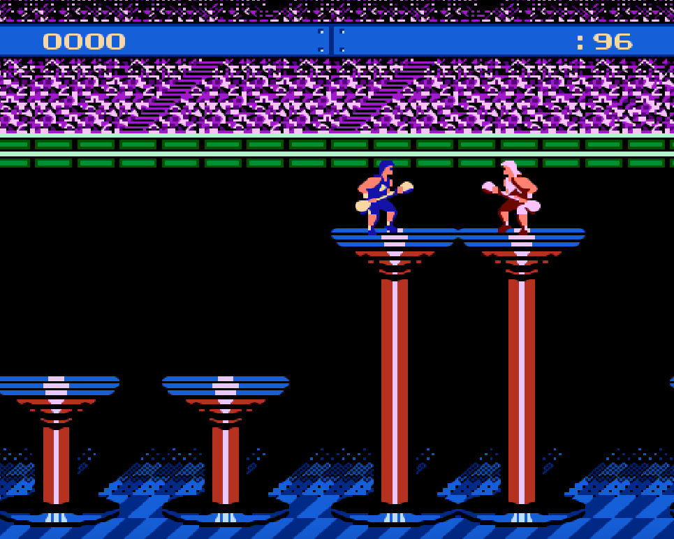 Game NES phần 1 American Gladiators