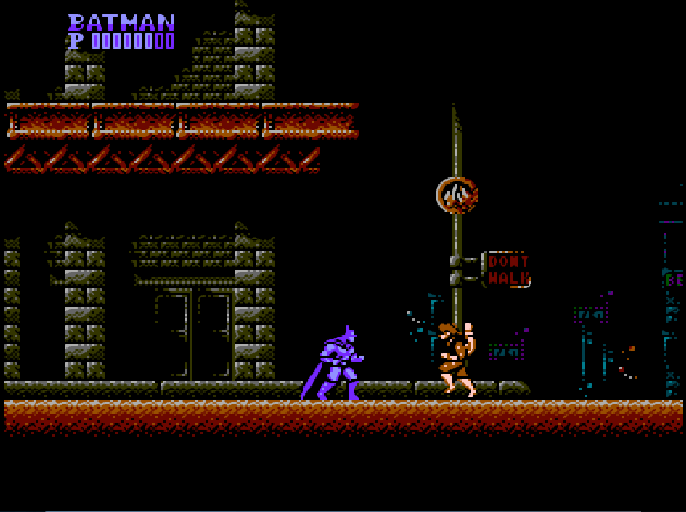 Game NES Batman: The Video Game