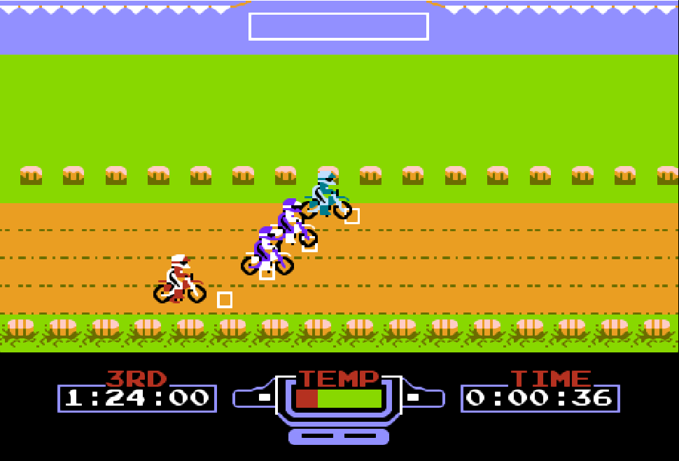 ExciteBike NES game