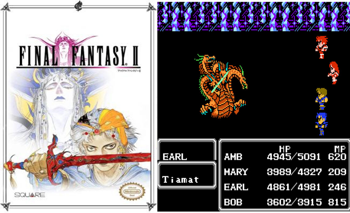 Game NES phần 6 Final Fantasy II