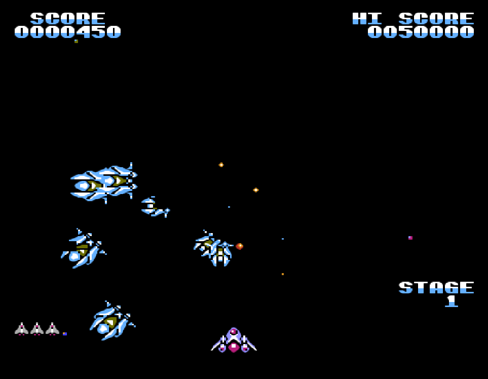 NES Game Gyruss