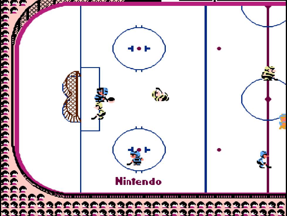 Ice Hockey game NES phần 8