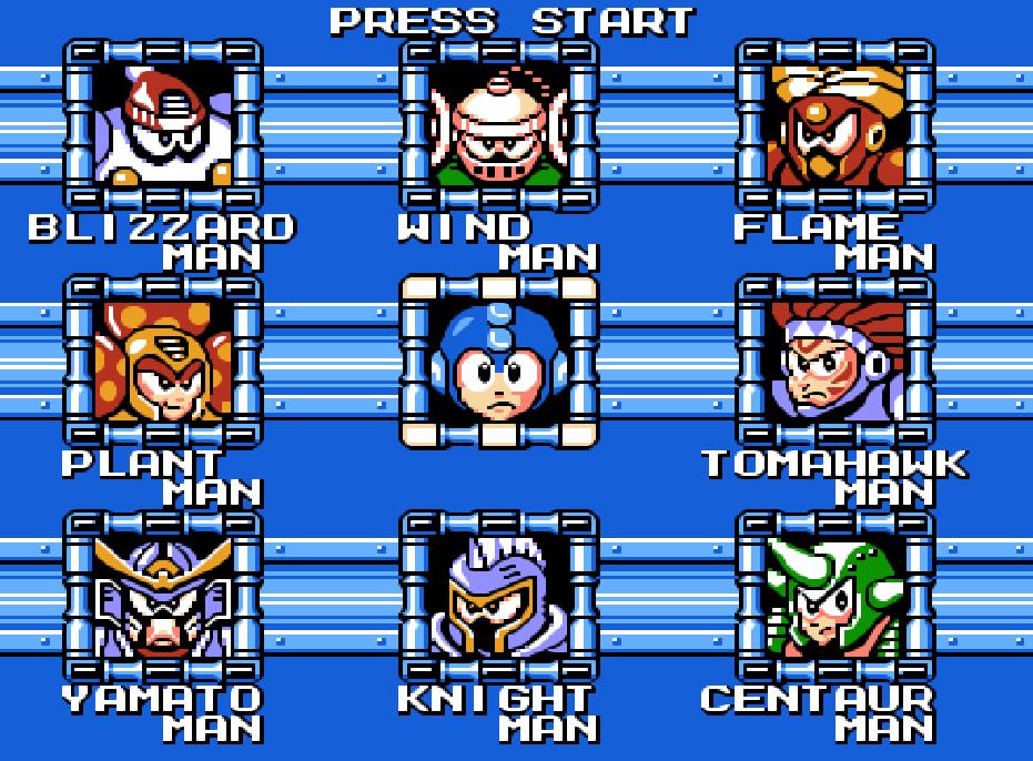 Game NES phần 11 MegaMan 6