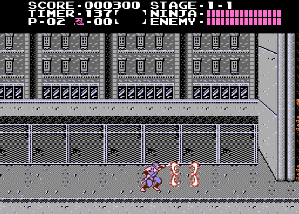Game NES phần 13 Ninja Gaiden