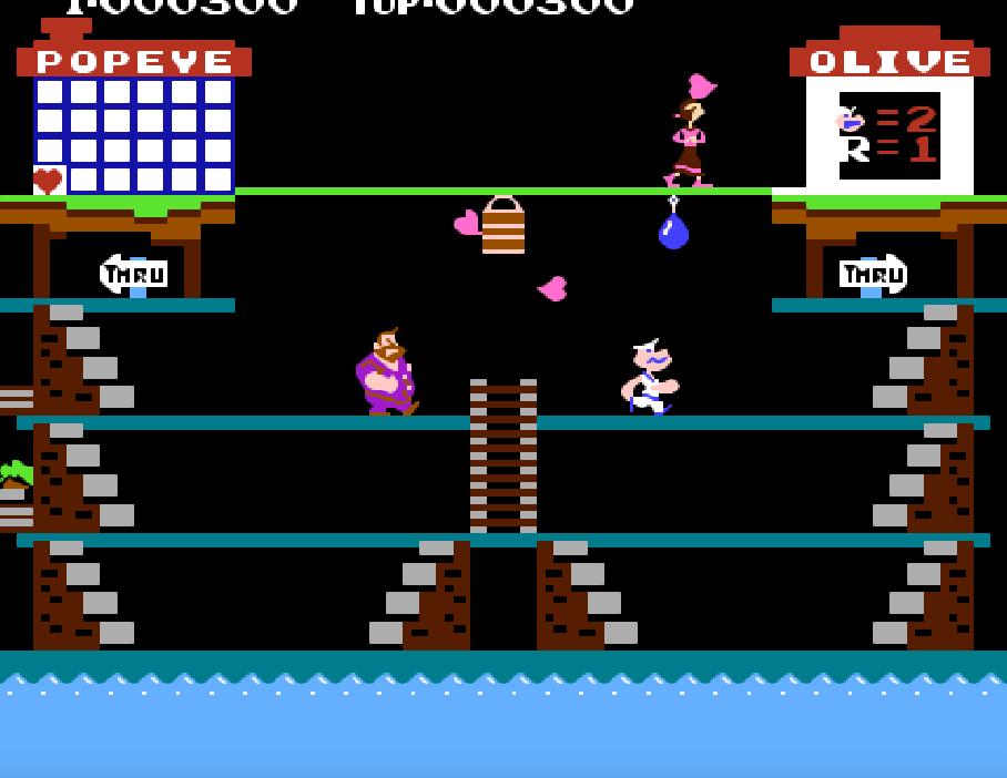 Game NES phần 14 Popeye