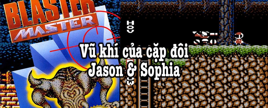 vũ khí của Jason & Sophia trong Blaster Master