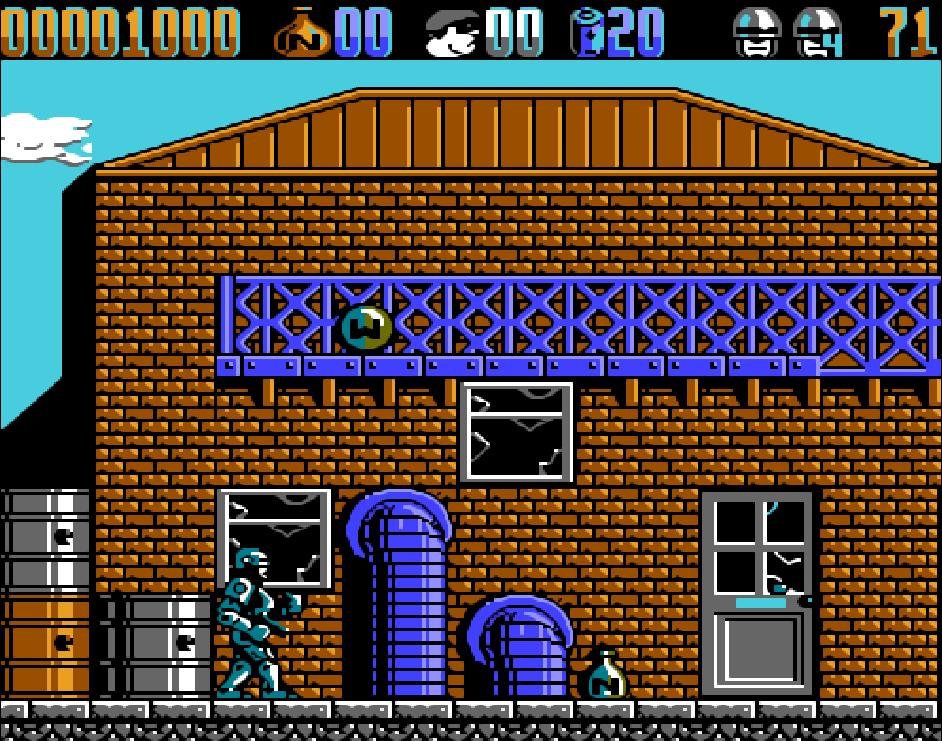 Game NES Robocop 2