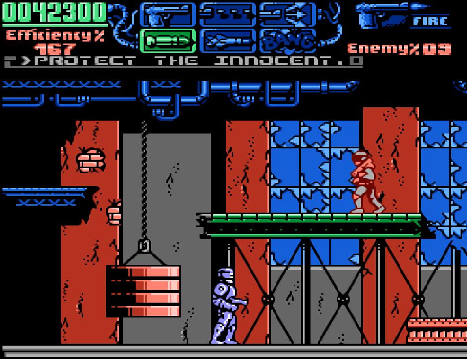 Game NES phần 15 Robocop 3