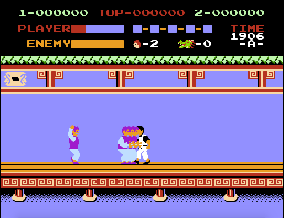 Game 4 nút NES Spartan X