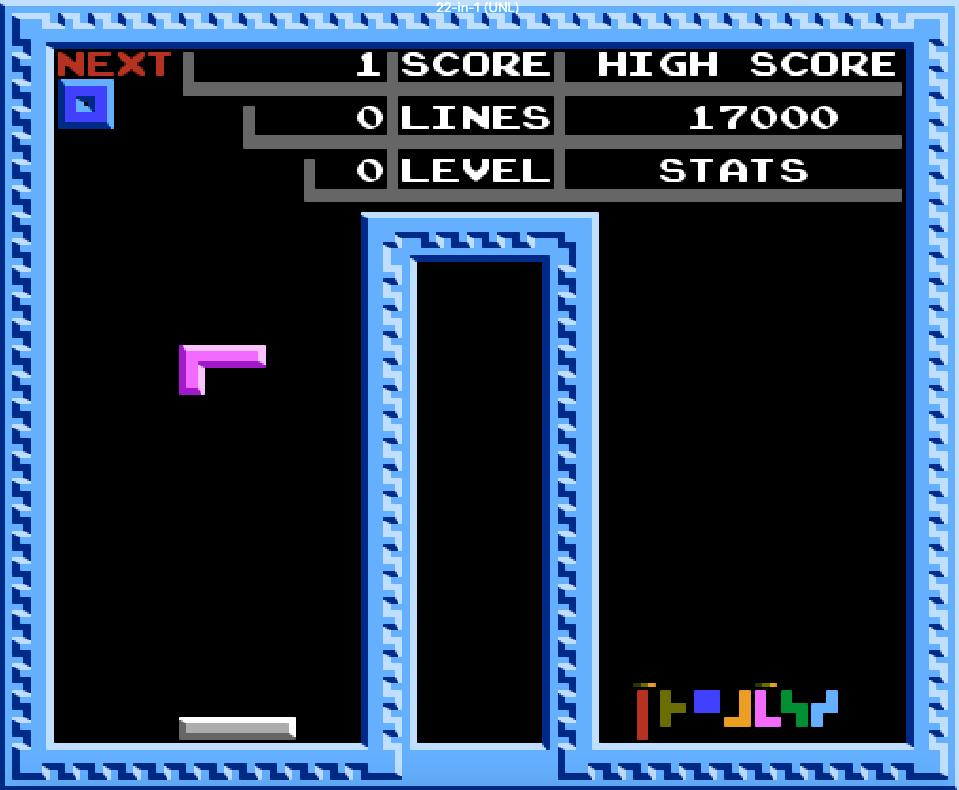 game NES phần 18 Tetris