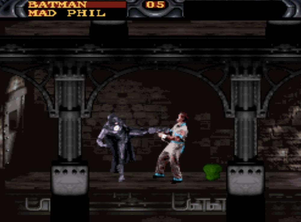 game SNES hay phần 3 Batman Forever