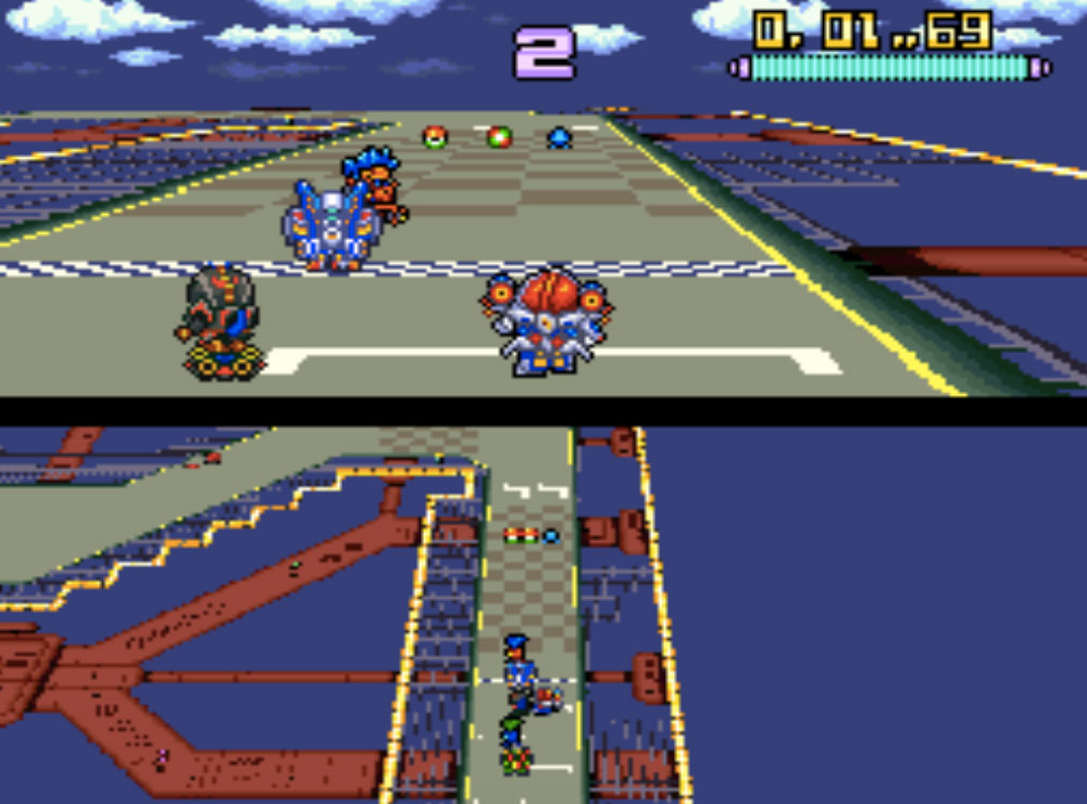 game SNES hay phần 3 Battle Racers