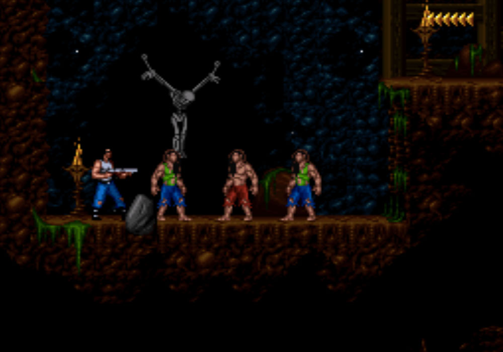 game SNES hay phần 4 Blackthorne