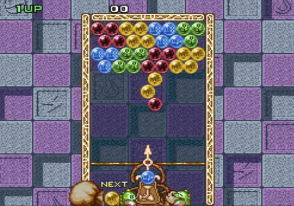 Game SNES hay phần 4 Bust-A-Move