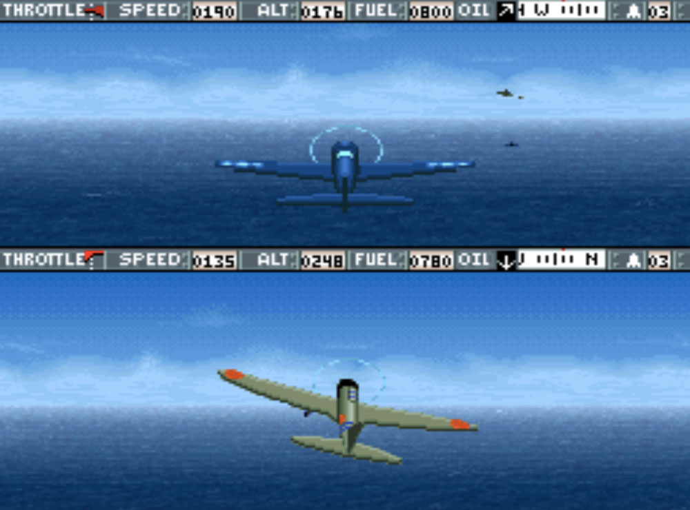 game SNES hay phần 5 Carrier Aces