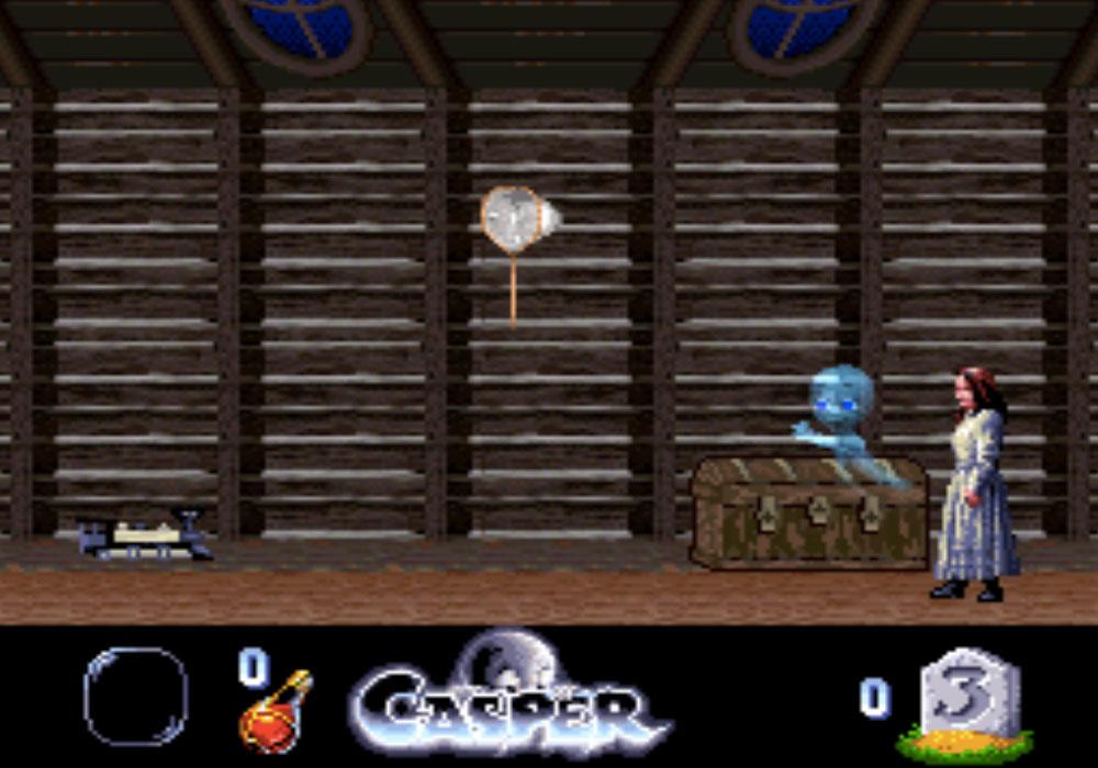 game SNES hay phần 5 Casper