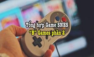tổng hợp game SNES hay phần 4