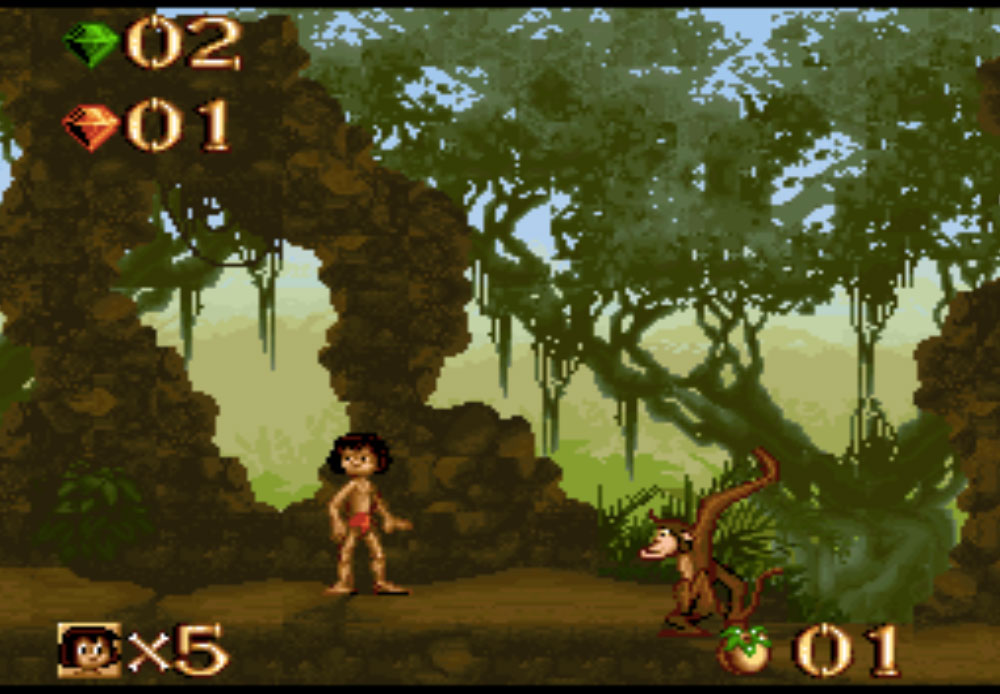 game snes hay phần 16 Jungle Book